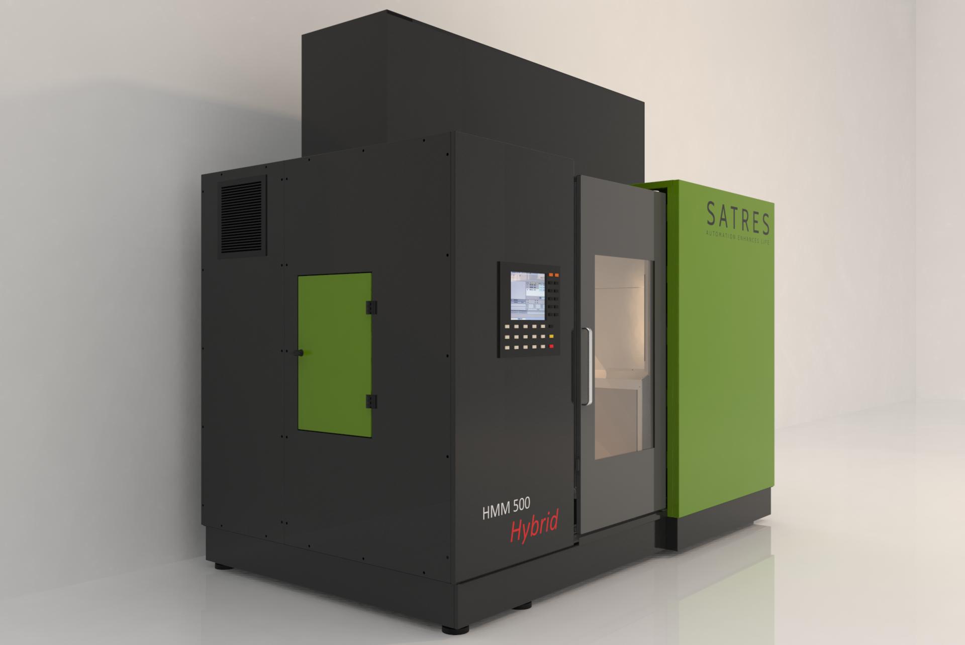 Hybrid Metal Manufacturing e HSM a 5 assi